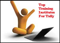 City Wise Best Training Institutes For Tally In India