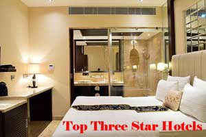 City Wise Best Three Star Hotels In India