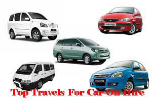 Top Travels For Car On Hire In India