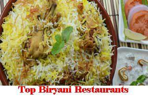 City Wise Best Biryani Restaurants In India