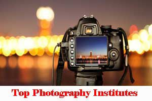 City Wise Photography institutes In India