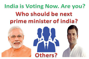 Who should be next prime minister of india?