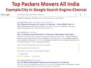 Top Packers Movers All India