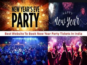 Best Website to Book New Year Party Tickets In India